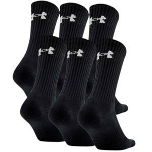 Under Armour UA Charged Cotton 2.0 Crew 6-pack
